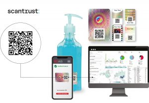 New security label marries holographics with serialized QR codes