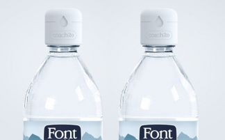 Danone taps into smart cap for mineral water brand
