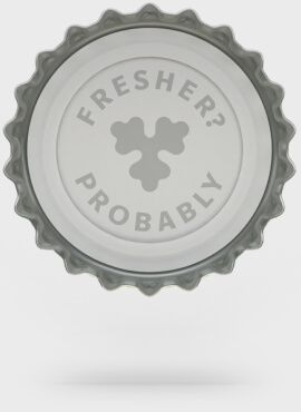 The best beer cap in the world? Probably…..