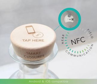 Full range of cork closures now offer IoT solutions