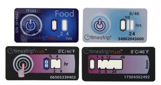 Simple temperature indicators add value to transit packs