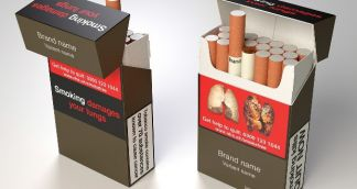 Counterfeit Plain Packs of Cigarettes appear in UK