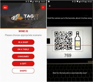 Wine producers combines QR and photochromic ink for authentication