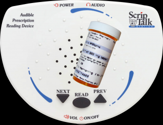 RFID powered Text-to-Speech feature on medicine bottles