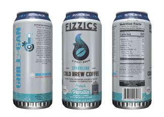 Self-Chill Can for New 7-Eleven Sparkling Coffee Drink