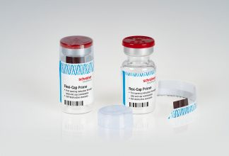 Two new tamper evident cap labels offer improved pharma security