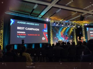 Zappar wins top Award at AWE for 7-Eleven AR campaign
